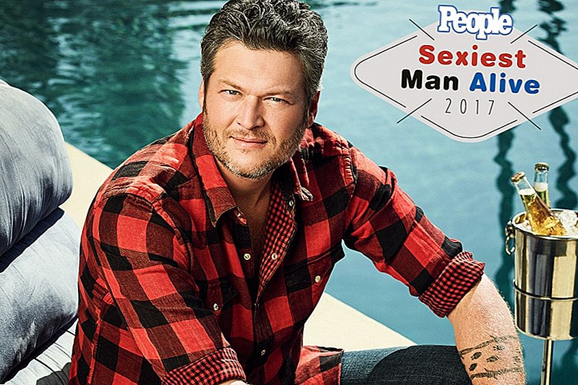25 Down-Home Fakti par Blake Shelton